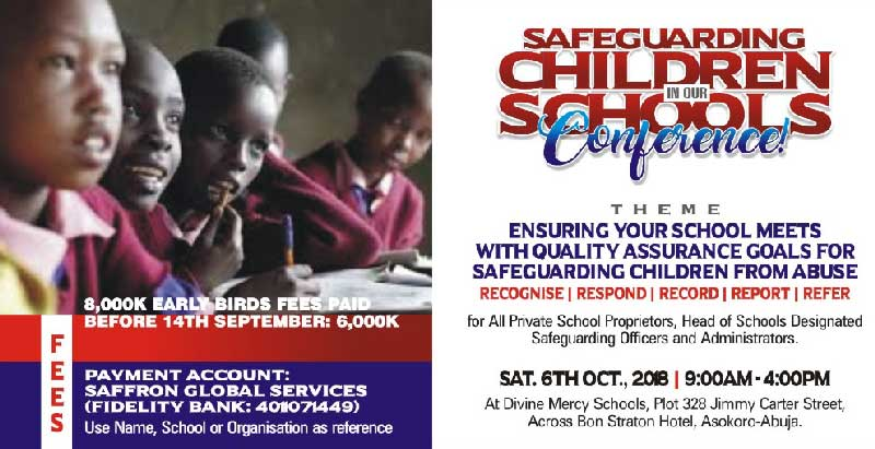 Safeguarding Children In Our Schools Conference